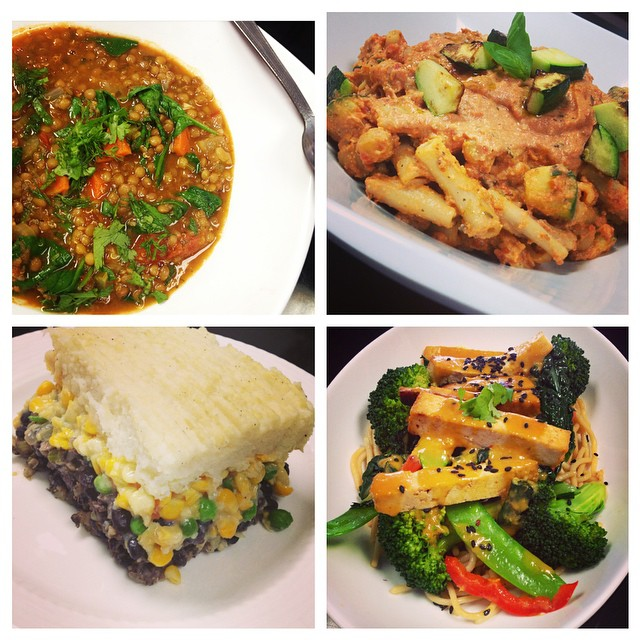 So much awesomeness to choose from today #glutenfree #vegan #plantbased #plantprotein #healthy #fresh