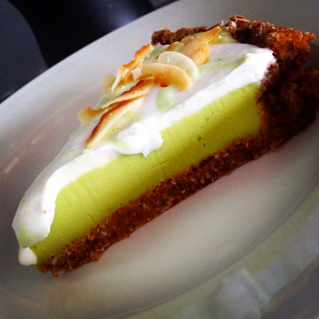 Coconut key lime pie today, oh yes and cupcakes too #glutenfree #vegan #soyfree #dairyfree