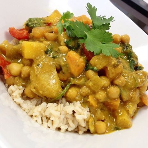 Thai yellow curry in store also. Serving up healthy food that tastes as good as it looks and does your body well. #glutenfree #vegan #soyfree #wheatfree #wholegrain