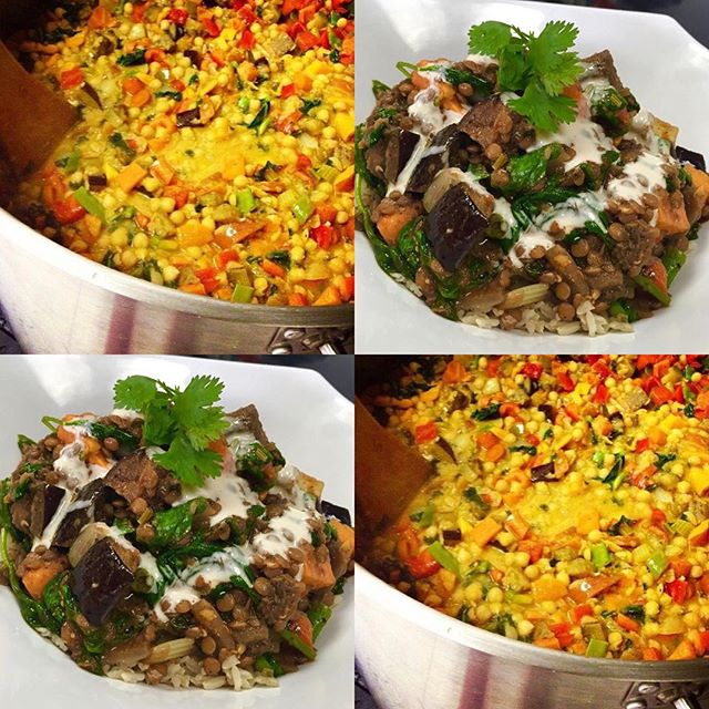 Persian lentil stew or green curry? Your choice! Always gluten free, vegan and delicious, not to mention that we do not use any refined sugars or flours #glutenfree #vegan #plantbased #plantprotein #veganessa