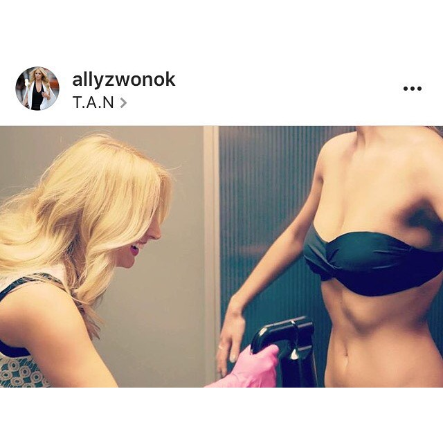 Who doesn't love a UV free golden glow that is gluten free and vegan?! Come by Saturday and you could win a free spray tan courtesy of  T.A.N montreal :tanmontreal.com @allyzwonok
