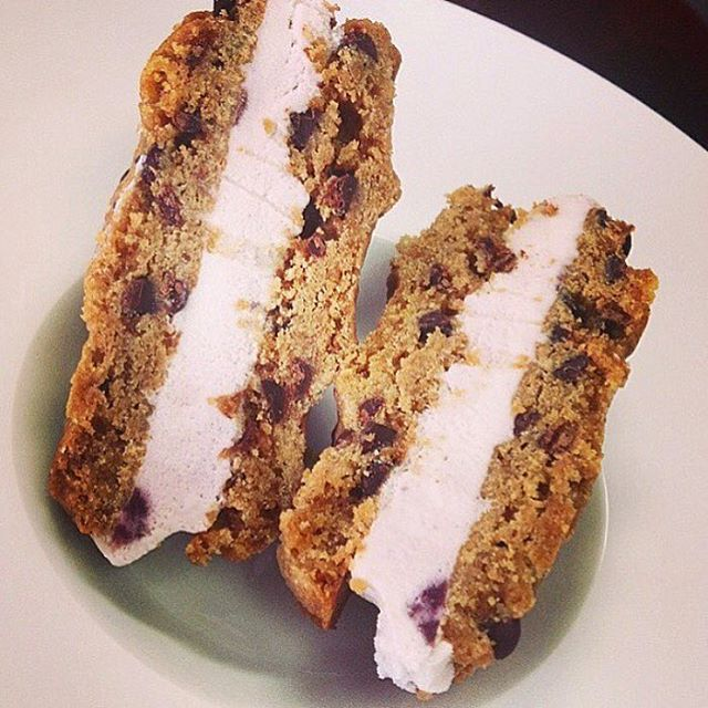 Beat the heat with one of theses  #glutenfree #vegan #soyfree #icecreamsandwich #dairyfree #homemade #mtl
