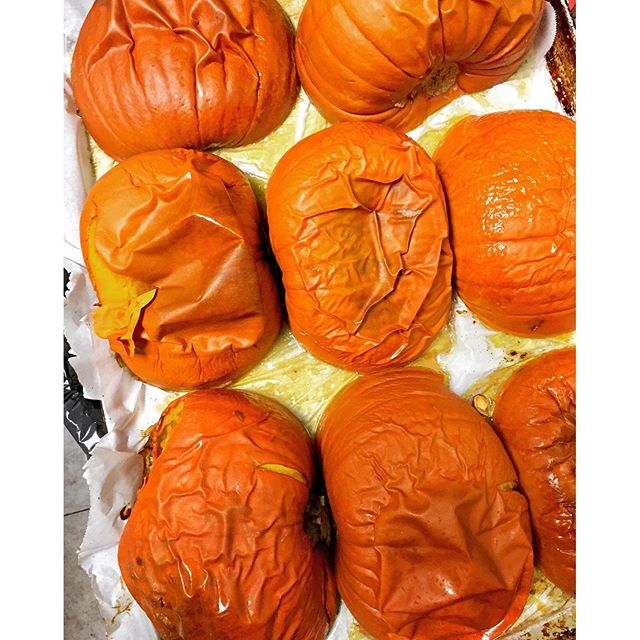 Fall cooking #roastedpumpkins #pumpkin #fall #vegan #glutenfree