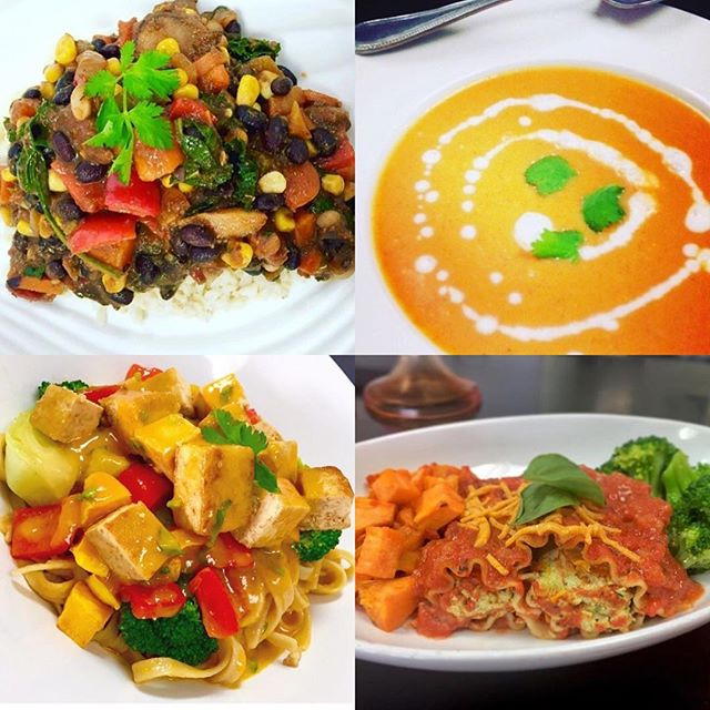 Chilli a la mole, Malaysian tofu stir fry or tofu ricotta manicotti? Lots of deliciousness choices today  #glutenfree #vegan #plantbased #plantstrong #veganfoodlovers  #vefansofig #whatveganseat