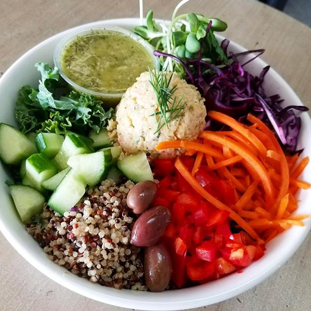 New salad bowl alert  try our chickpea toona bowl #glutenfree #vegan #dairyfree #cleaneating #plantbased