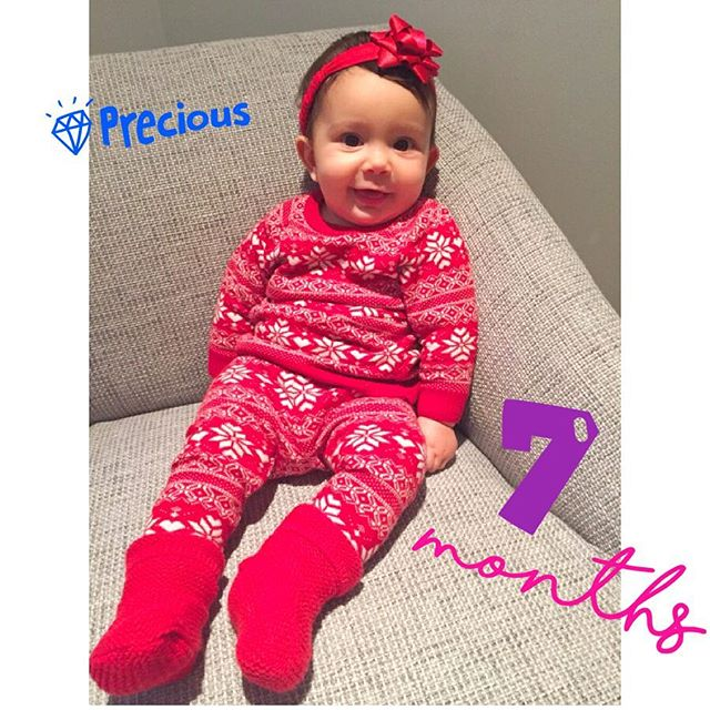 This precious gift of ours turned 7months today, oh how time really does fly, where have theses pat 7months gone?! #loveofmylife #babygirl #preciousdaughter #instababy