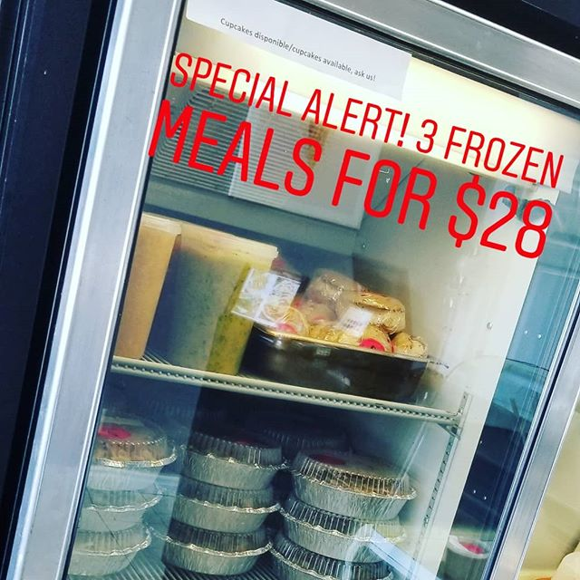 We close next Wednesday June 27th for 10days for our summer holidays, until we run out of stock our freezer special is ongoing!