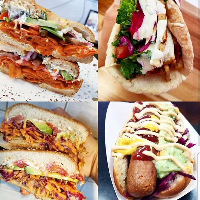 It's about that time! VDOGS, TOFU  KEBABS, SMOKED CQRROT LOX AND ELMWICH SANDWICHES ALL AVAILABLE TODAY AND TOMORROW #glutenfreehotdog #plantbasedgoodness #vegan #crueltyfree #mtl #mtlmealservice #514