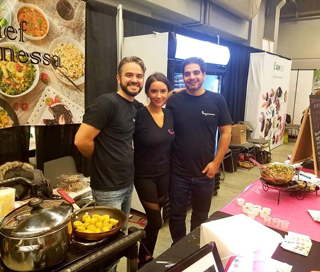 That's a wrap! Sold out at the Vegan Fest  it was so great to meet new peeps and see old faces . A big thank you to the Veganessa Team that worked extra hard and to my brother who volunteered to help us this weekend.@chef_joy @indieblue27 @shawn_p_percher #familybusiness #plantbasedgoodness #vegan #fvmtl #mtl #514